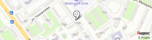 Юлия на карте Усть-Каменогорска