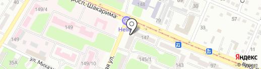 Добровольное Общество Инвалидов Восточно-Казахстанской области на карте Усть-Каменогорска