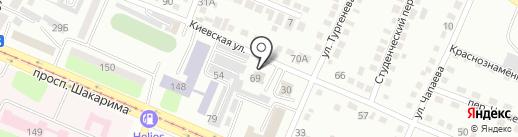 Казстрой-Автоматика, ТОО на карте Усть-Каменогорска