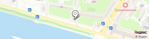 Караван на карте Усть-Каменогорска