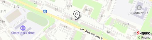 Subaru на карте Усть-Каменогорска