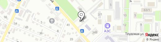 ОДАН-Строй, ТОО на карте Усть-Каменогорска