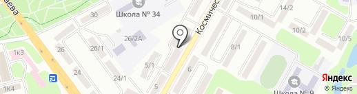 БиоСфера на карте Усть-Каменогорска