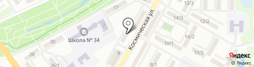 Концептуал на карте Усть-Каменогорска