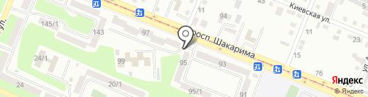 ЕвроАзияФарм, ТОО на карте Усть-Каменогорска