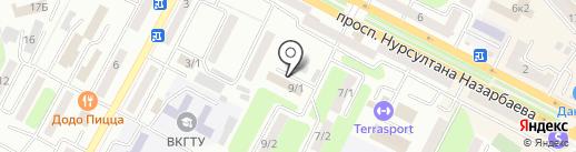Департамент комитета контроля медицинской и фармацевтической деятельности на карте Усть-Каменогорска