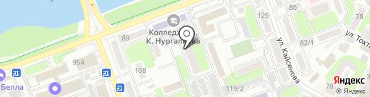 АртЛайф на карте Усть-Каменогорска