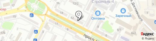 Все для Авто на карте Усть-Каменогорска