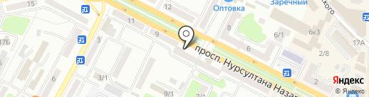 Нотариус Жапарова А.К. на карте Усть-Каменогорска