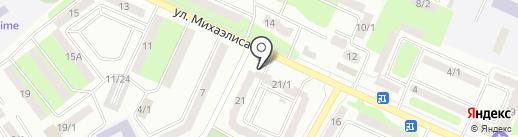 Нурполис на карте Усть-Каменогорска