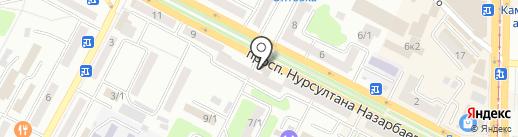 Электроком 7 шагов на карте Усть-Каменогорска