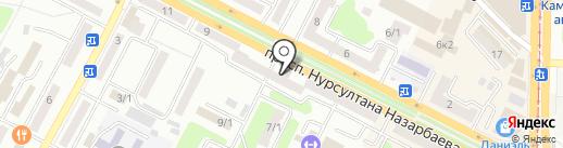 ВЕКТОР УЮТА на карте Усть-Каменогорска