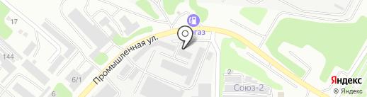 Гастелло-1 на карте Усть-Каменогорска