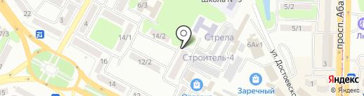 Divage на карте Усть-Каменогорска