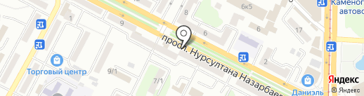 Марко на карте Усть-Каменогорска