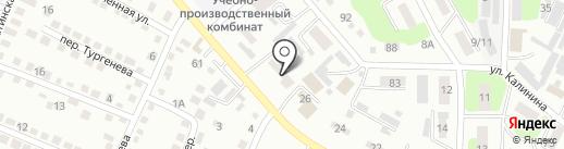 Учебный центр на карте Усть-Каменогорска
