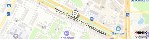 Vip travel на карте Усть-Каменогорска