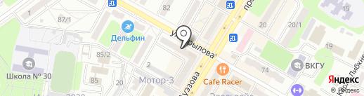 ANT на карте Усть-Каменогорска