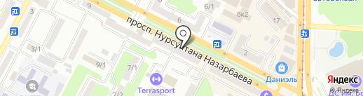 ПРО-Валют на карте Усть-Каменогорска