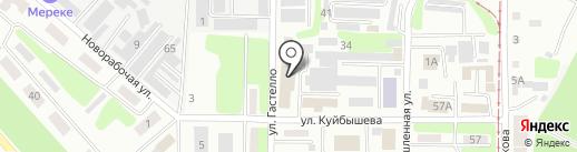ДСП Центр Усть-Каменогорск, ТОО на карте Усть-Каменогорска
