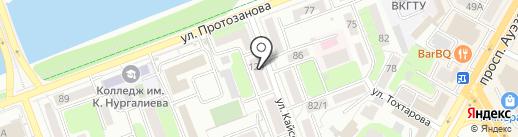 Массагет на карте Усть-Каменогорска