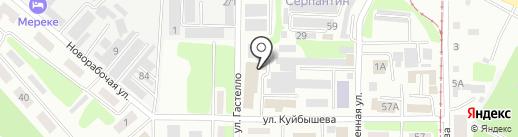 АЯКС на карте Усть-Каменогорска