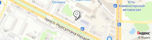 Мир одежды на карте Усть-Каменогорска