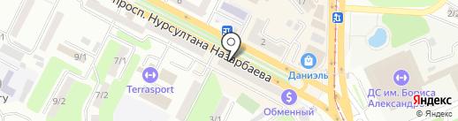 Free Style на карте Усть-Каменогорска