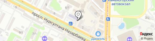 Магазин наливных духов на карте Усть-Каменогорска