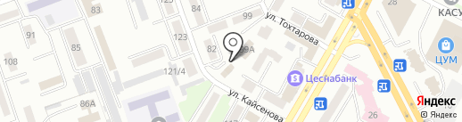 KazInvestStroy, ТОО на карте Усть-Каменогорска