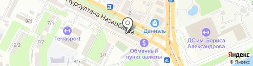 Davidoff brandmaker на карте Усть-Каменогорска