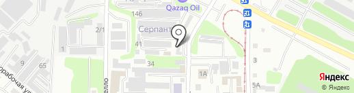Samurai-auto на карте Усть-Каменогорска