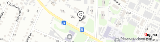 ФАЗЕНДА на карте Усть-Каменогорска
