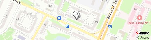 ТЕРРИТОРИЯ АВТОЗВУКА на карте Усть-Каменогорска