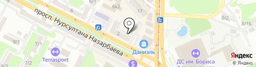Адвокатский кабинет Мукажанова О.П. на карте Усть-Каменогорска
