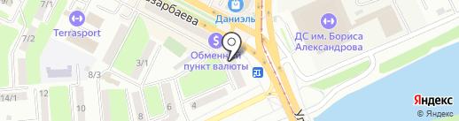 Тайм аут на карте Усть-Каменогорска