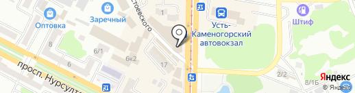 Beauty Mania на карте Усть-Каменогорска