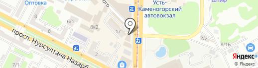 Встреча на карте Усть-Каменогорска