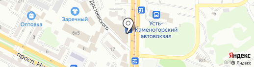 DVO.KZ mobile на карте Усть-Каменогорска