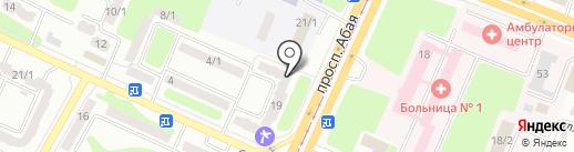 NetlCom на карте Усть-Каменогорска
