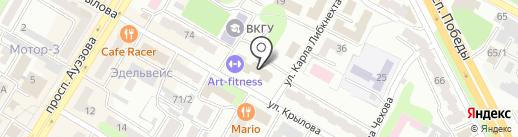 Единый накопительный пенсионный фонд на карте Усть-Каменогорска