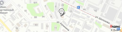 Маг, ТОО на карте Усть-Каменогорска