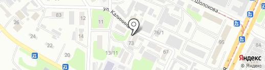 Мастерская рекламы, ТОО на карте Усть-Каменогорска