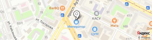 ROOMY на карте Усть-Каменогорска