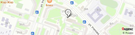 Магазин бытовой химии и средств гигиена на карте Усть-Каменогорска