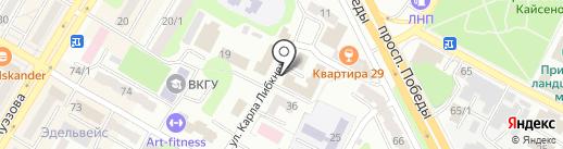 MANHATTAN на карте Усть-Каменогорска