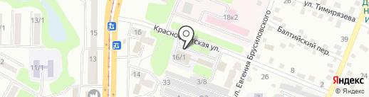 Алматинская Академия Экономики и статистики на карте Усть-Каменогорска