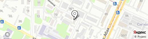 Антикор ВК, ТОО на карте Усть-Каменогорска