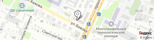 Городской суд №2 г. Усть-Каменогорска на карте Усть-Каменогорска