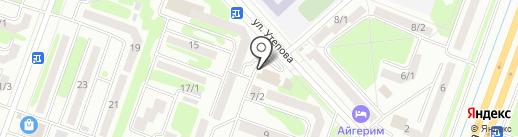 Банкомат, Цеснабанк на карте Усть-Каменогорска
